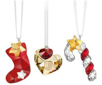 Adornos navidad swarovski palma centro - Decorar regalos de navidad ...